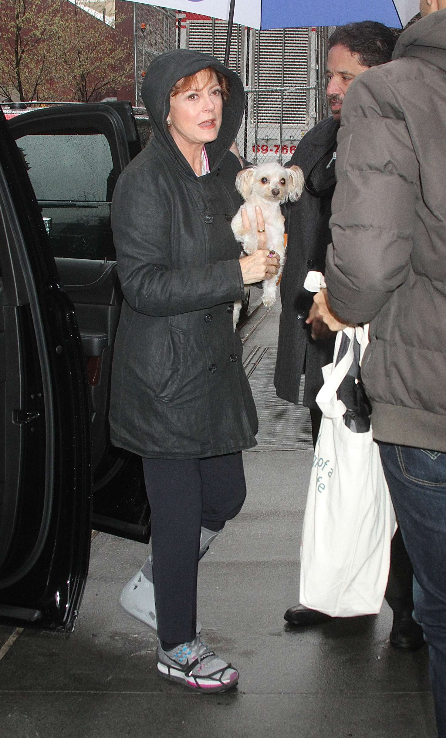 Susan Sarandon Arrives at The View in New York
