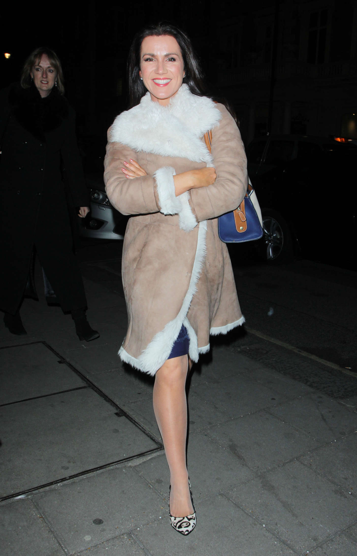 Susanna Reid Arriving at Radio Times Cover Party in London