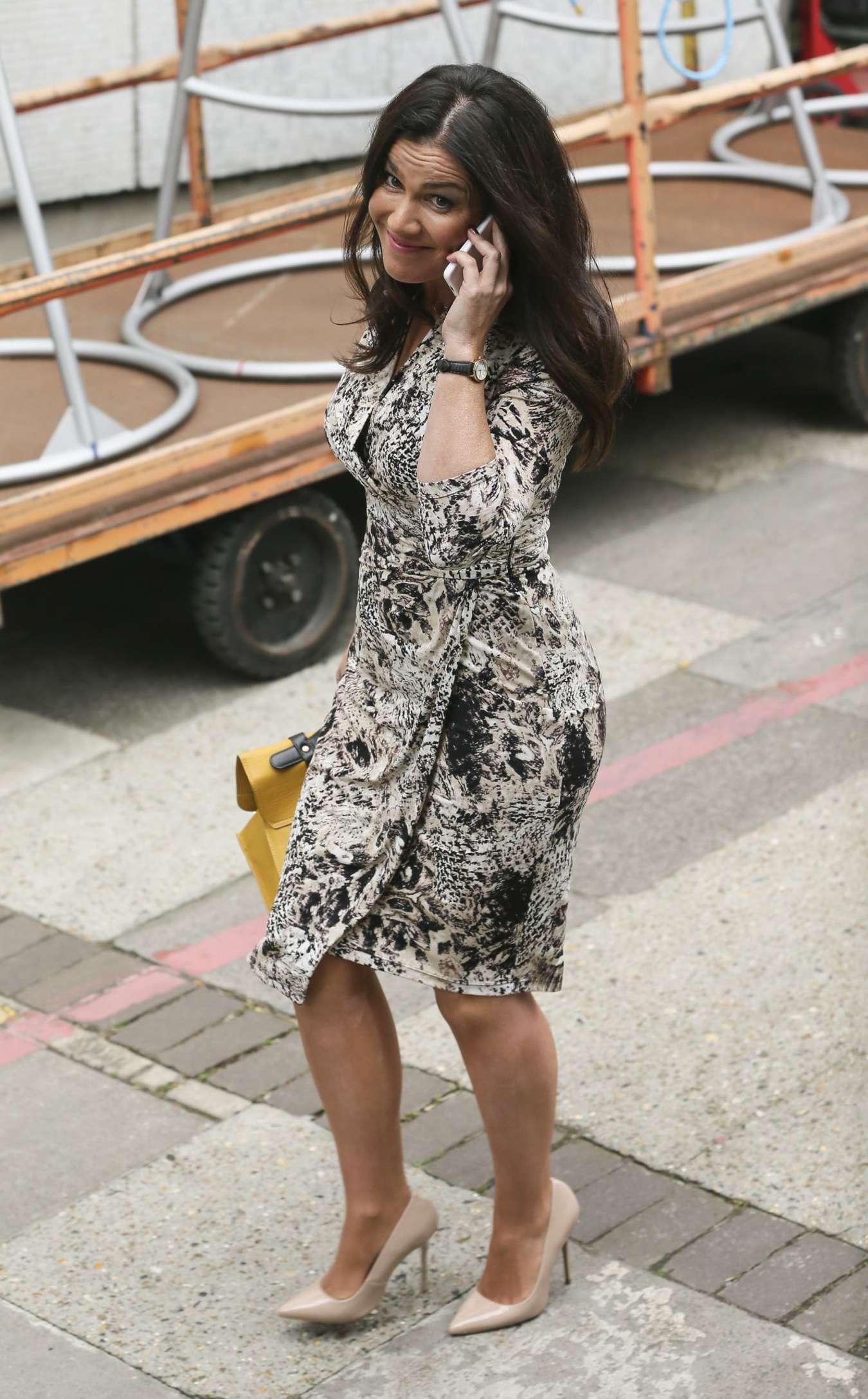 Susanna Reid Leaving the London Studios