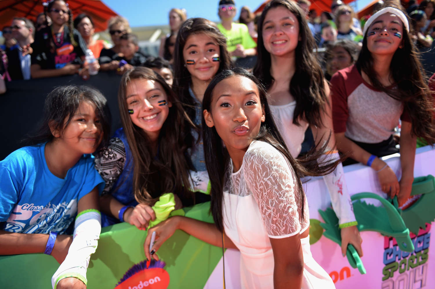 Sydney Park Nickelodeon Kids Choice Sports Awards in Los Angeles