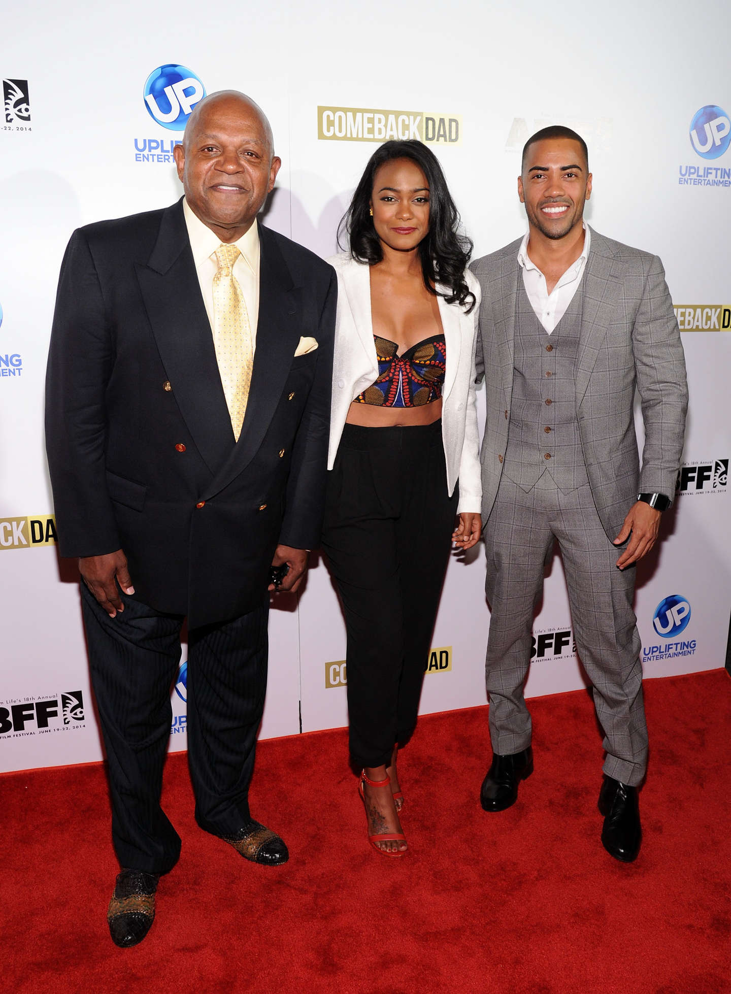 Tatyana Ali ABFF UP TV Premiere of Comeback Dad in New York