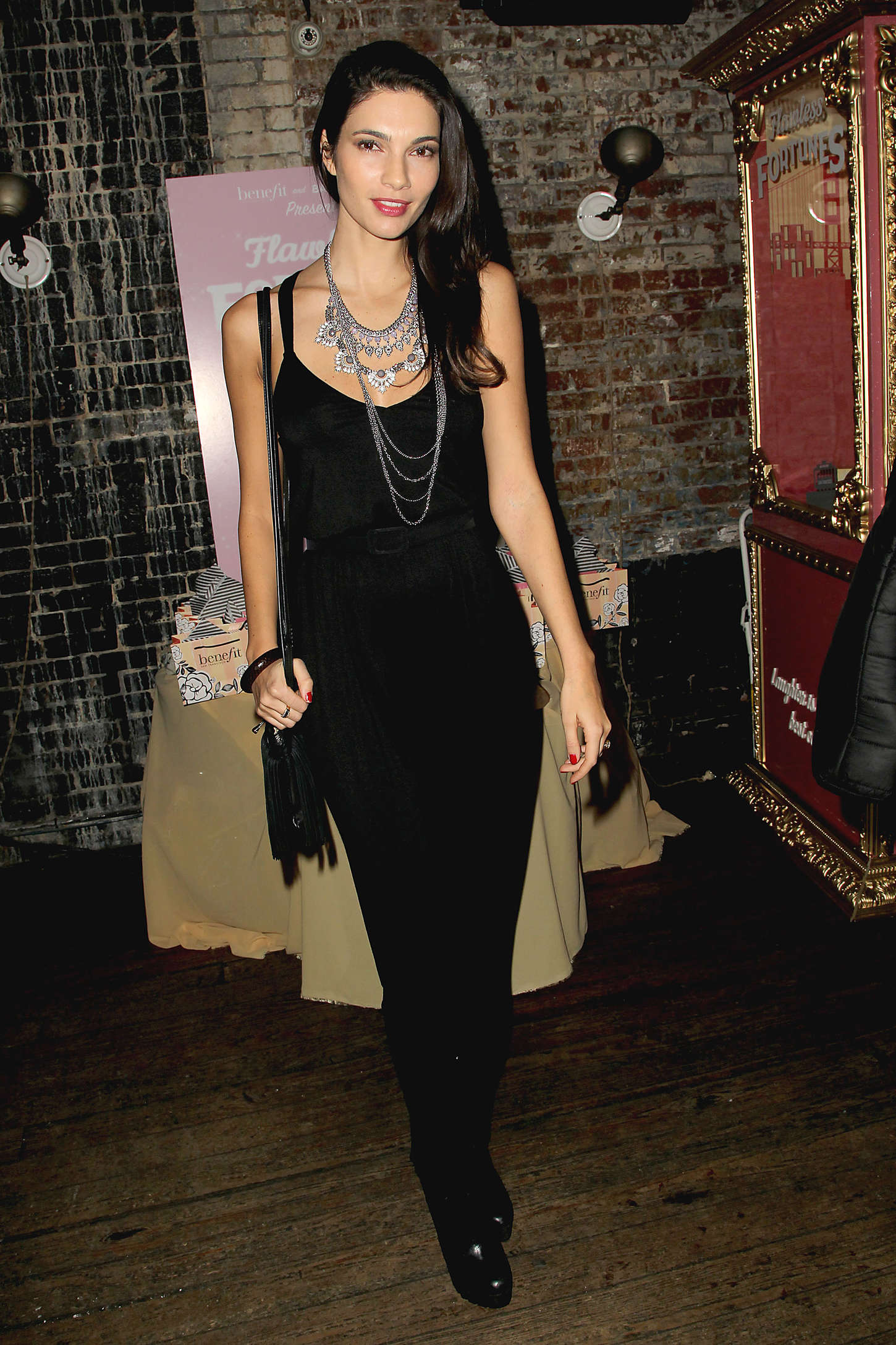 Teresa Moore Benefit Cosmetics And BaubleBar Collaboration Party in New York