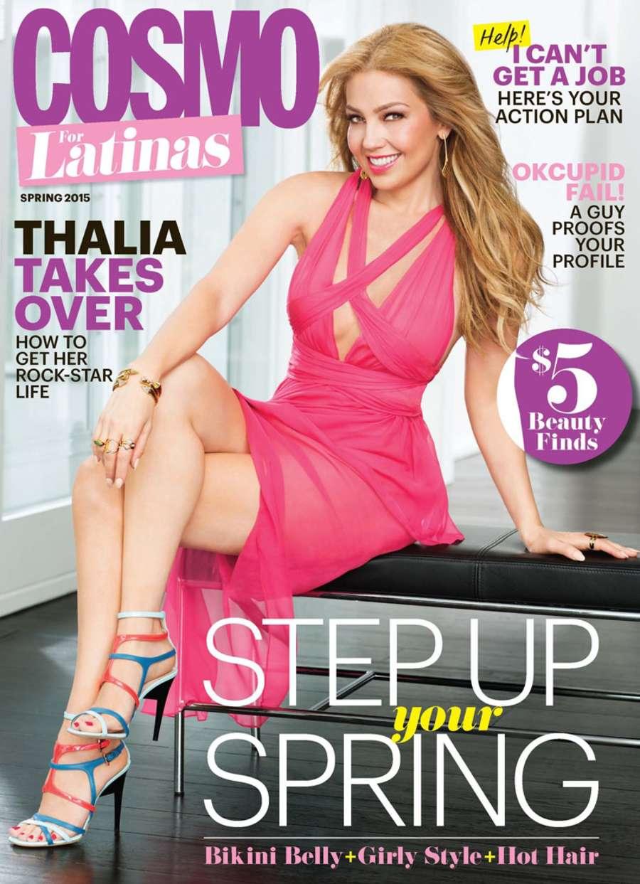 Thalia Cosmo for Latinas Magazine
