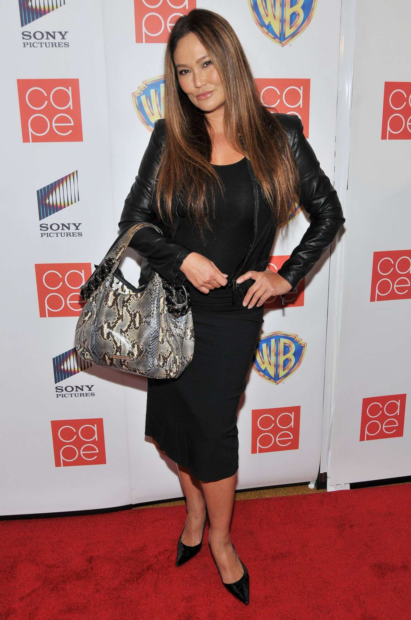 Tia Carrere Cape Holiday Party in Los Angeles