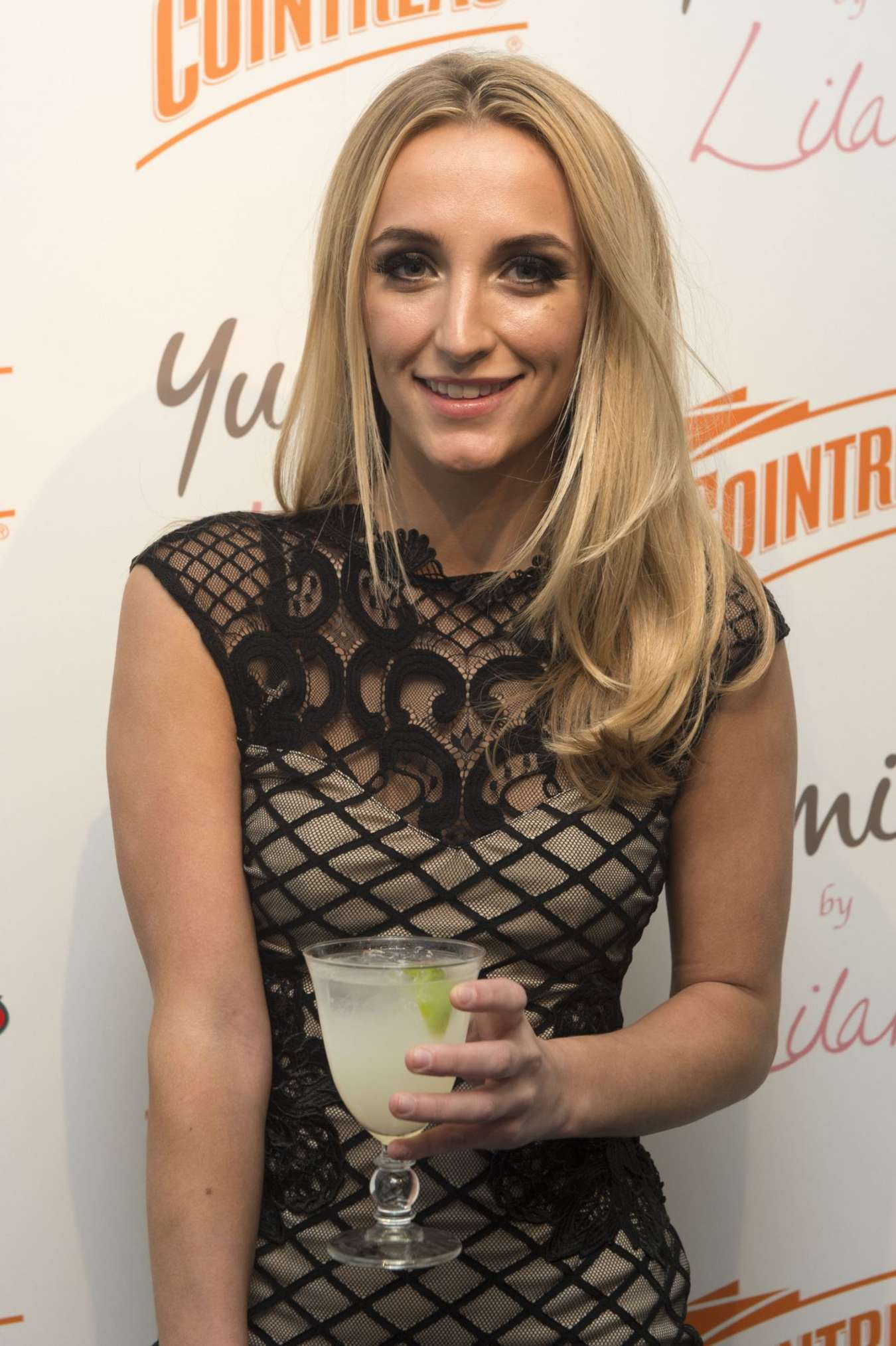 Tiffany Watson Cointreau Launch Party for Yumi By Lilah Collection in London