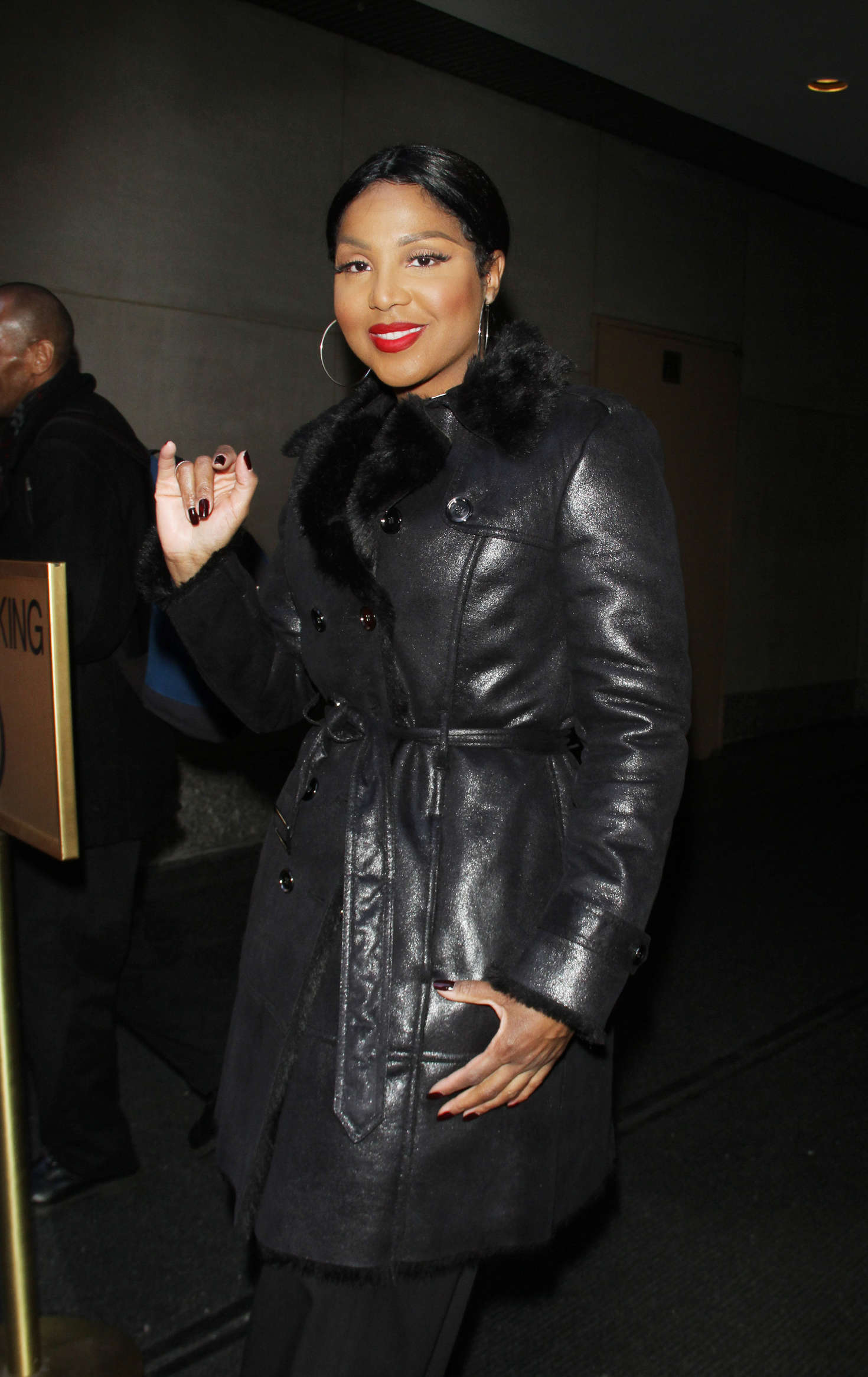 Toni Braxton NBCs Today Show in New York