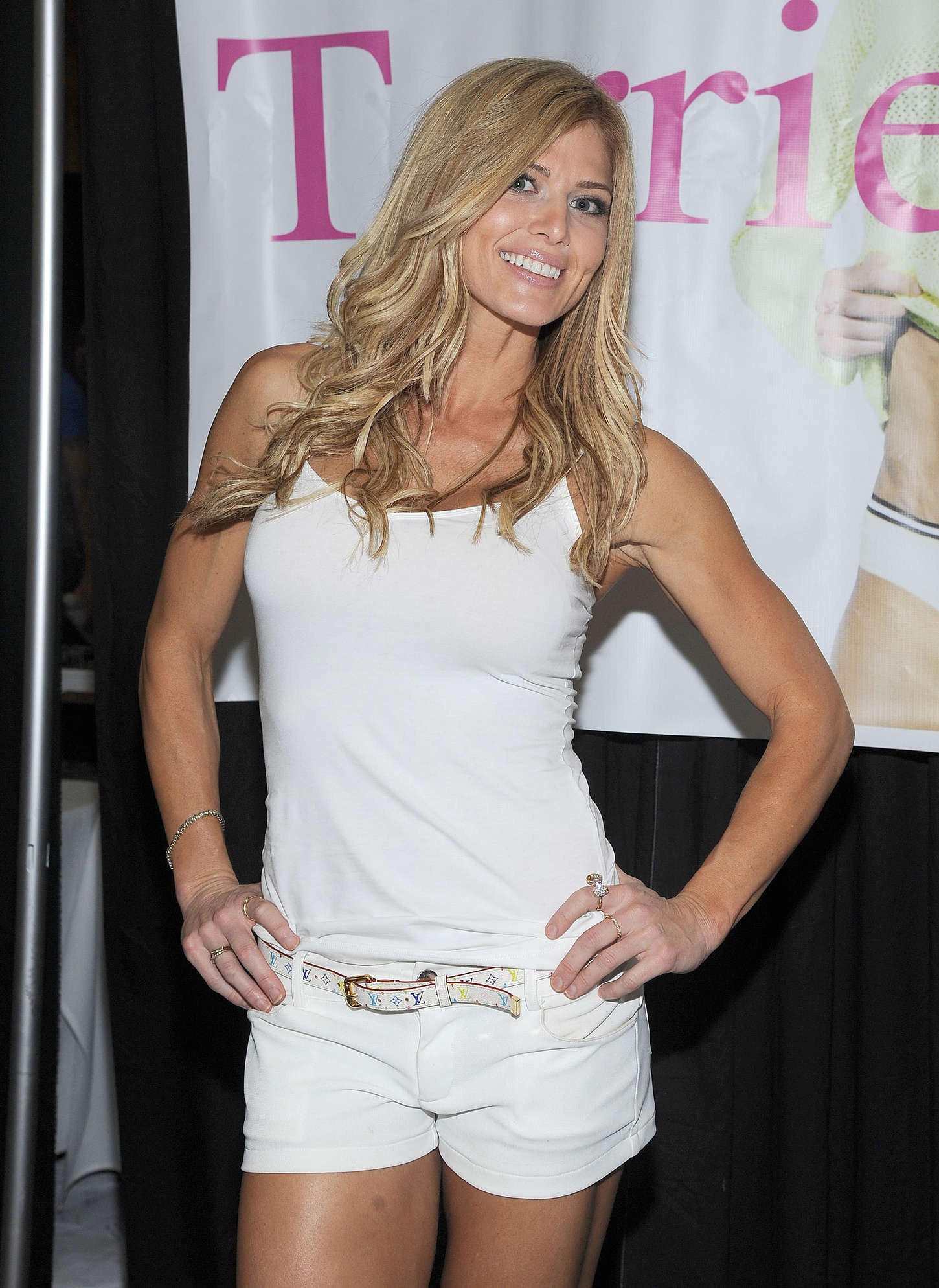 Torrie Wilson WrestleCon in San Jose
