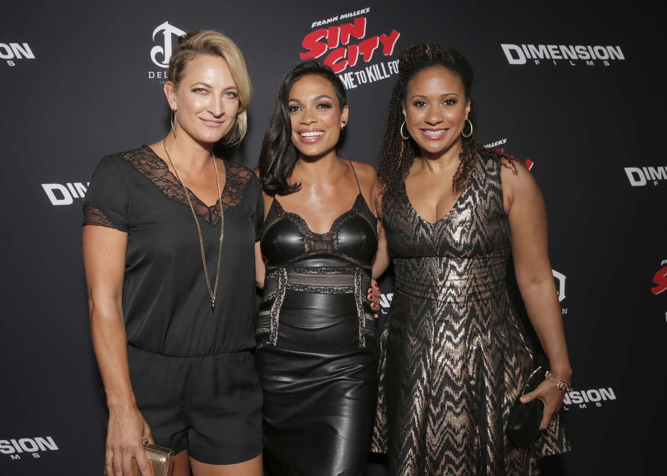 Tracie Thoms Sin City A Dame To Kill For Premiere in Los Angeles