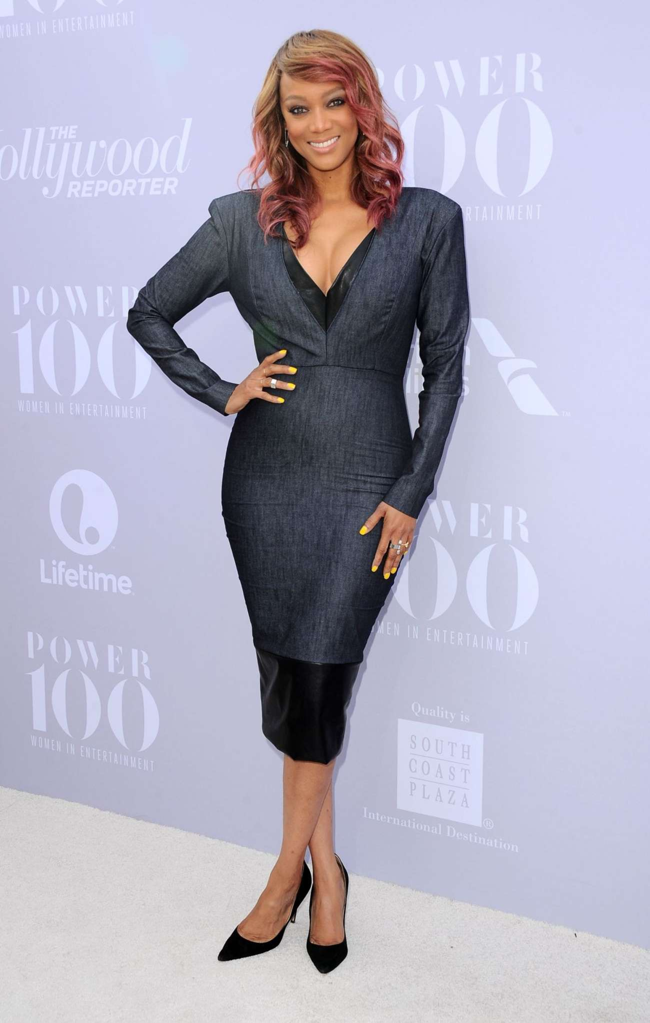 Tyra Banks Annual Women in Entertainment Breakfast in Los Angeles