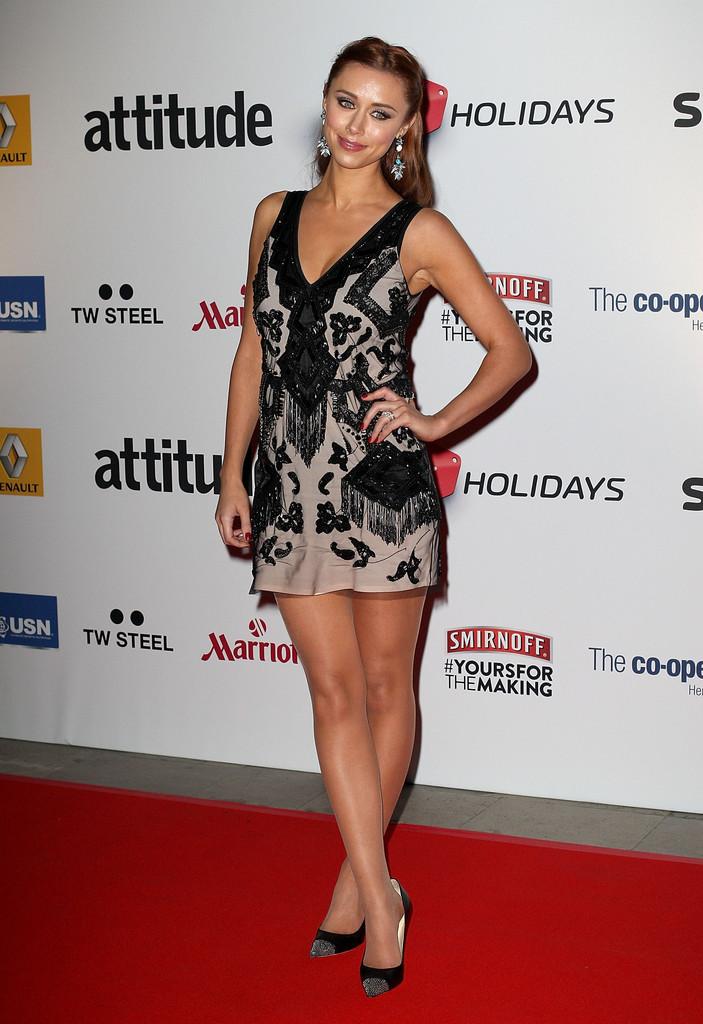 Una Healy Attitude Magazine Awards in London