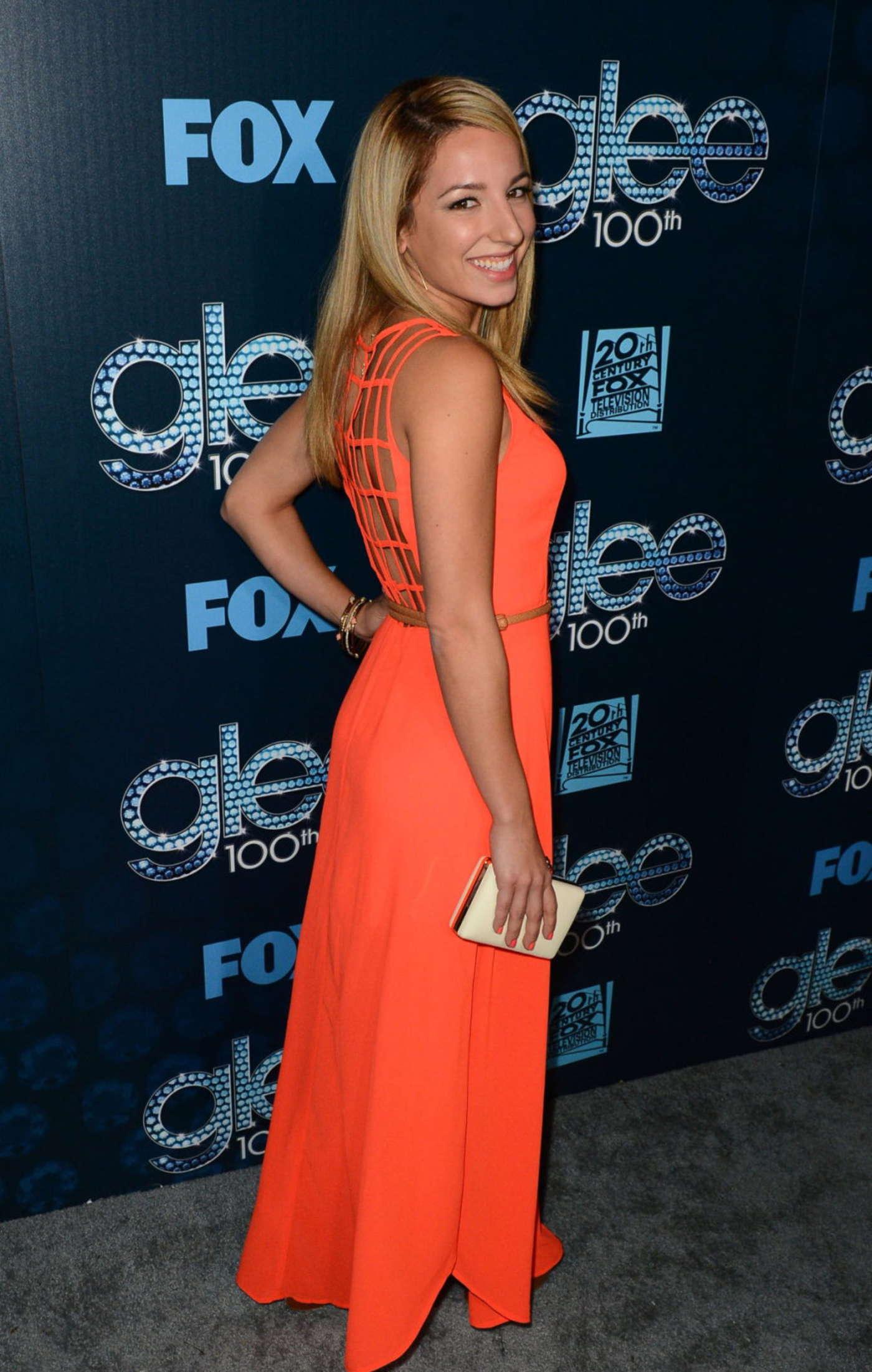 Vanessa Lengies Glee Episode Celebration in Los Angeles