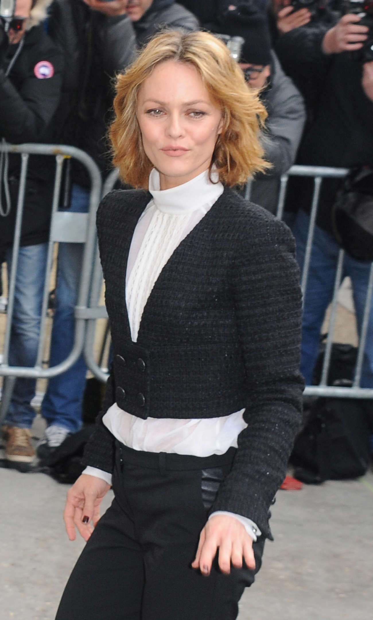 Vanessa Paradis Chanel Fashion Show in Paris