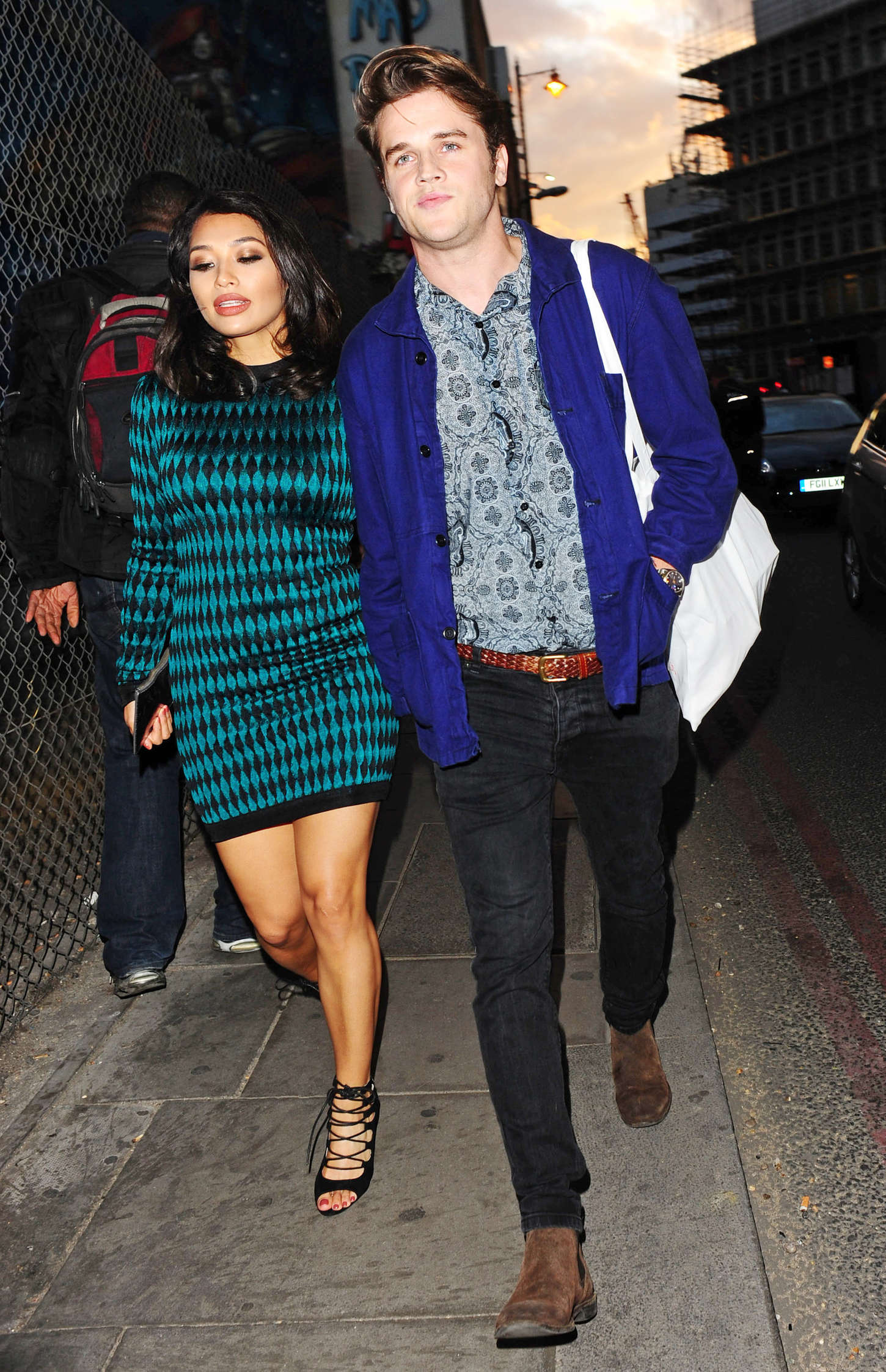 Vanessa White Diet Coke J.W.Anderson Launch Party in London