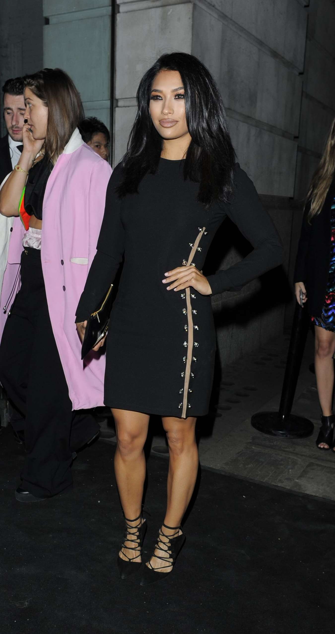 Vanessa White Versus By Versace Fashion Show in London