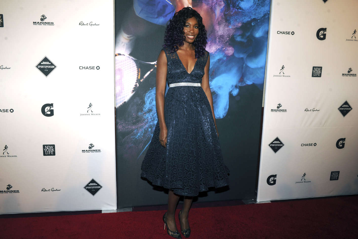 Venus Williams Sports Illustrated Sportsperson Of The Year Ceremony in New York