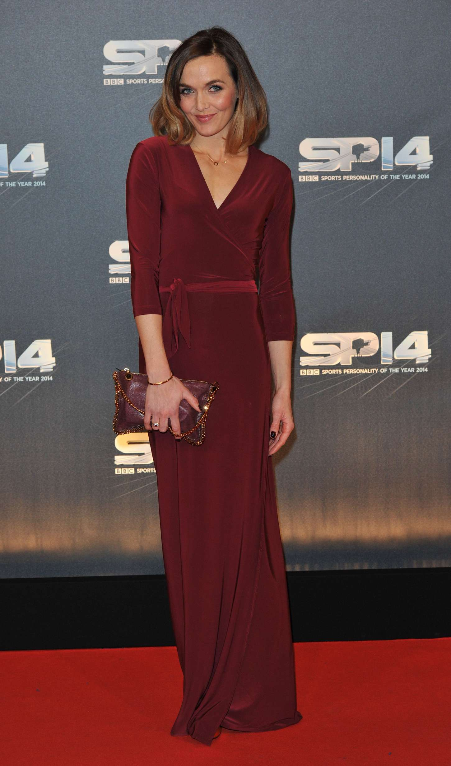 Victoria Pendleton BBC Sports Personality of the Year Awards in Glasgow