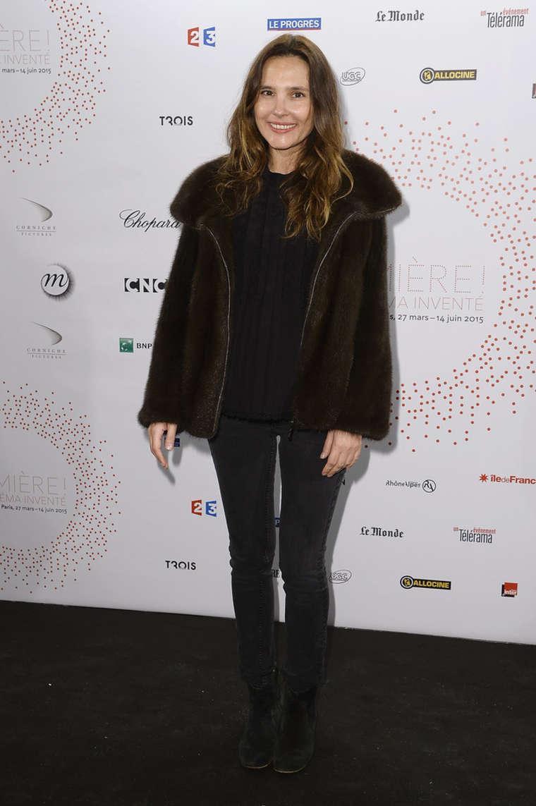 Virginie Ledoyen The Lumiere! Le Cinema Invente Exhibition Preview in Paris