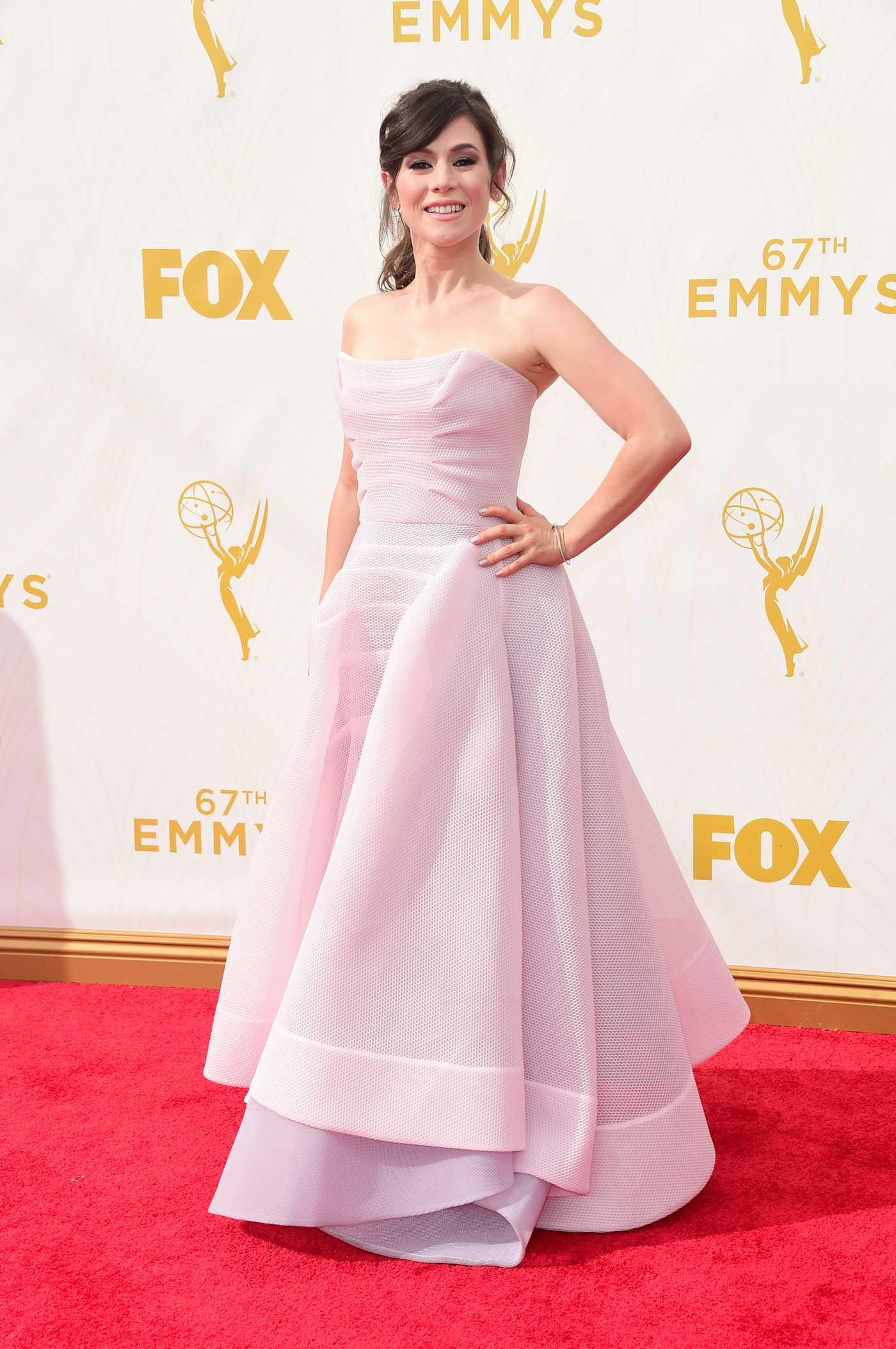 Yael Stone Primetime Emmy Awards in Los Angeles