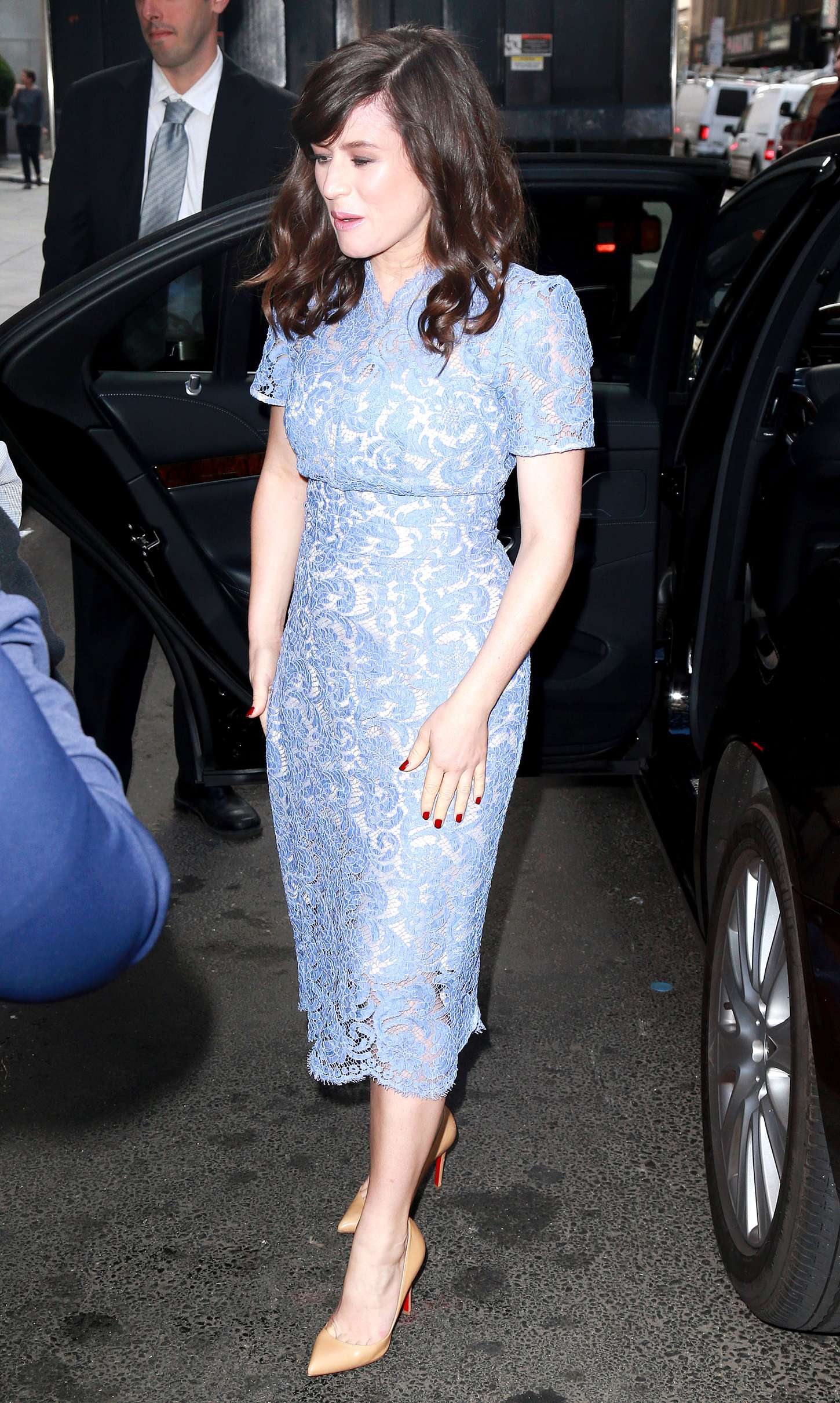 Yael Stone Today show in New York