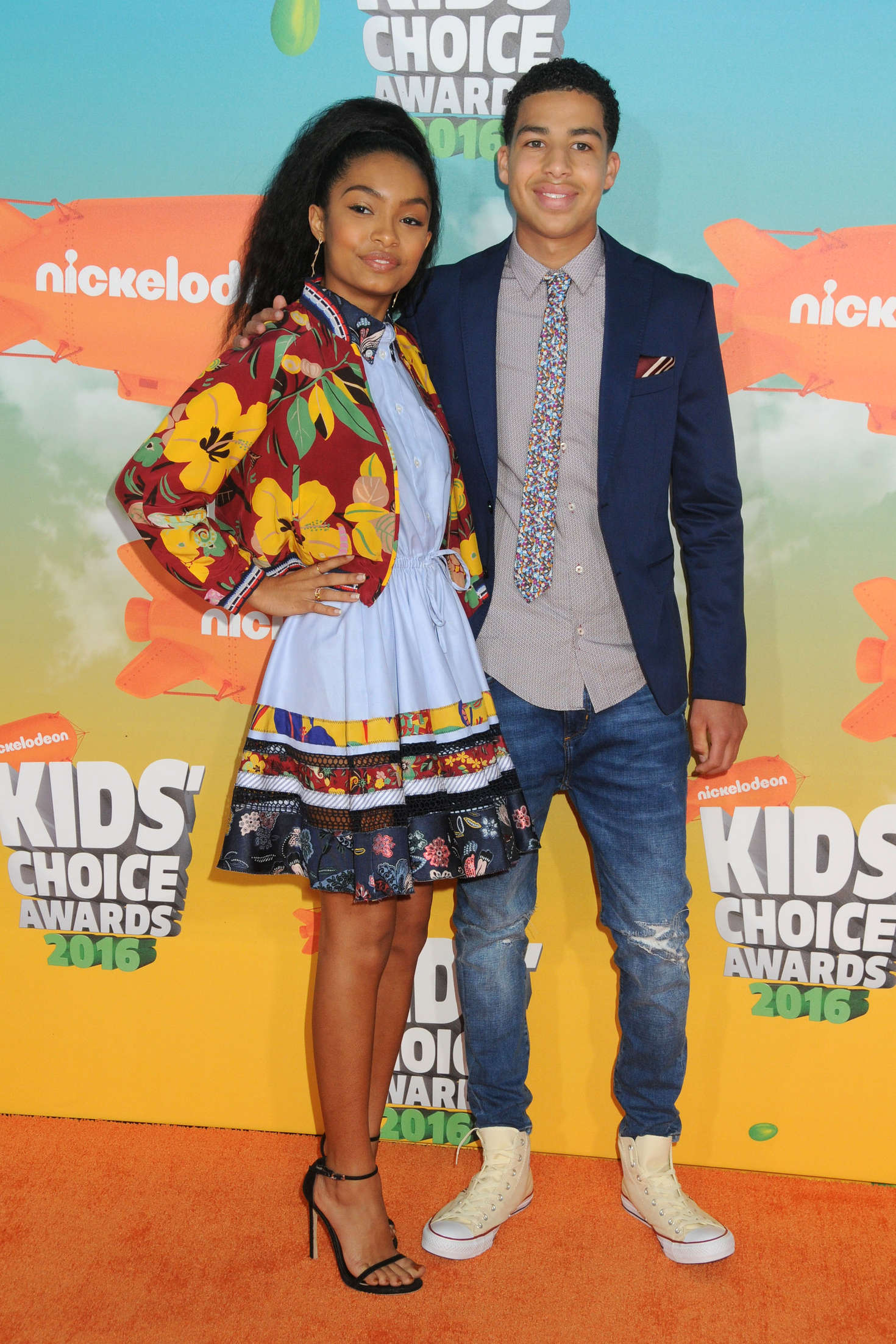 Yara Shahidi Nickelodeon Kids Choice Awards in Inglewood