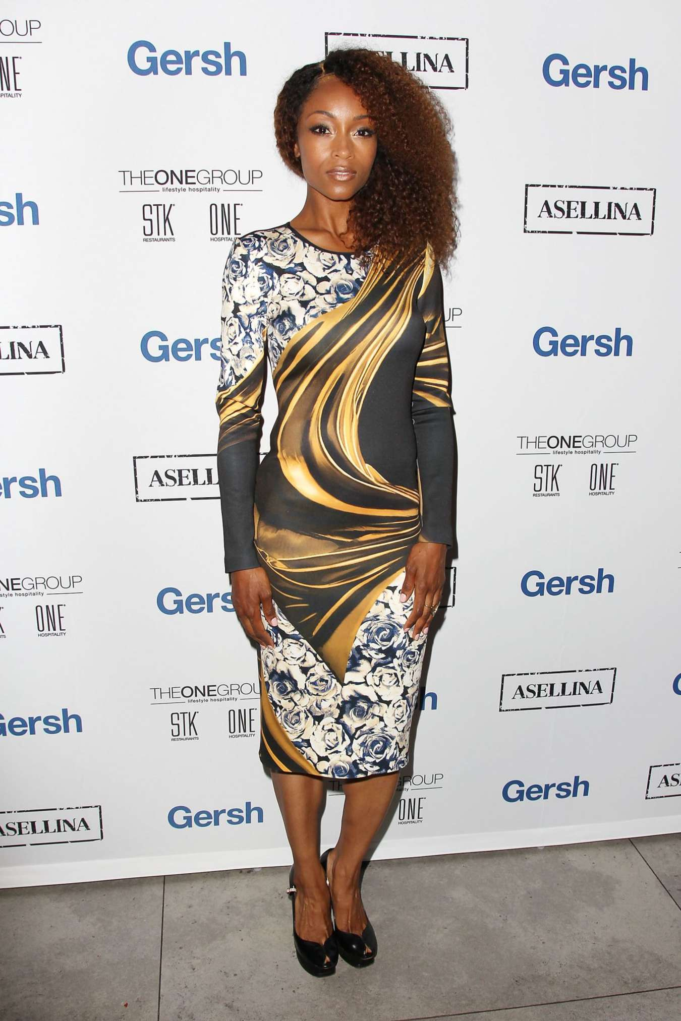 Yaya DaCosta American Lung Association LUNG FORCE Launch in New York