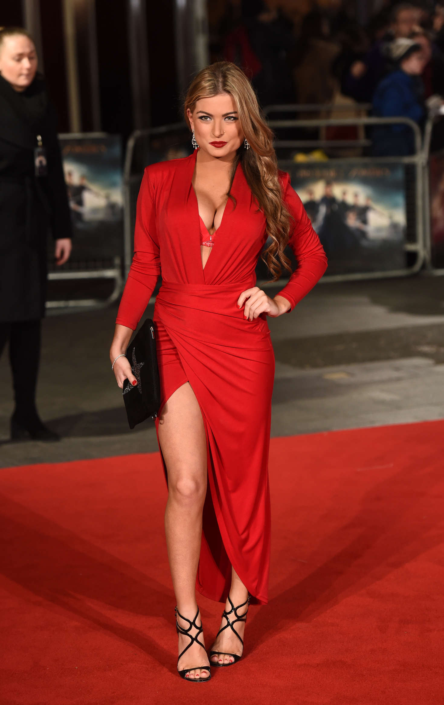 Zara Holland Pride and Prejudice and Zombies Premiere in London