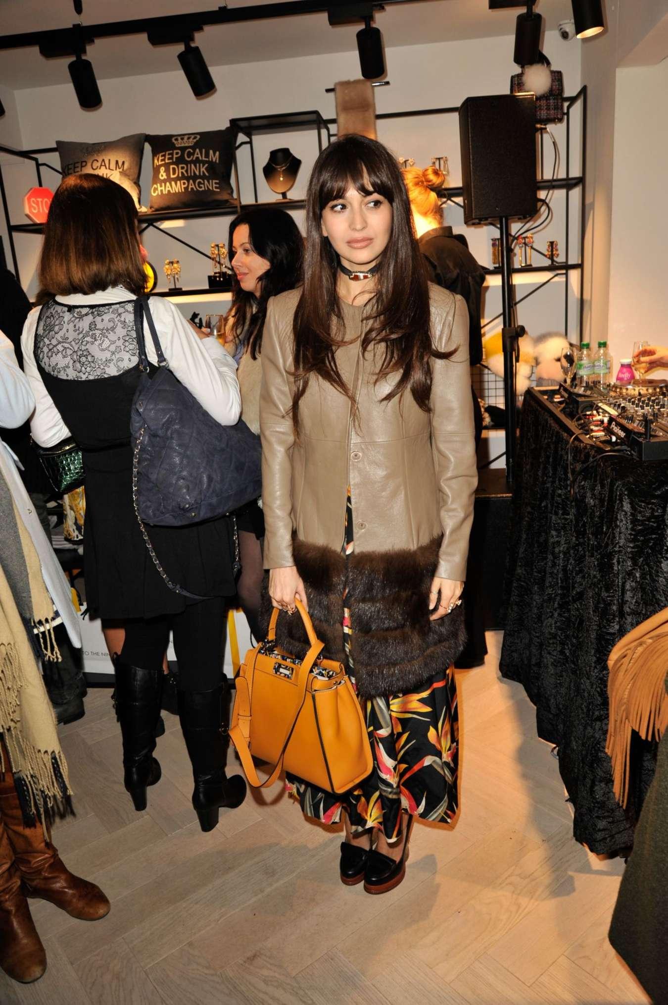 Zara Martin To The Nine Store Launch in London