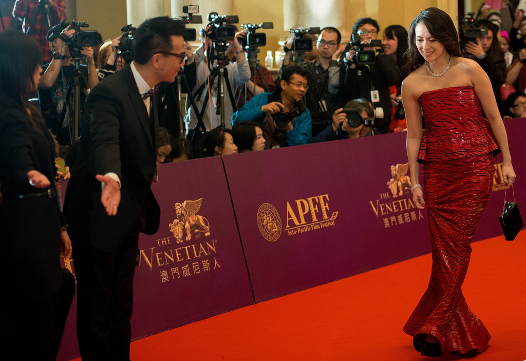 Zhang Ziyi Asia Pacific Film Festival in Macao