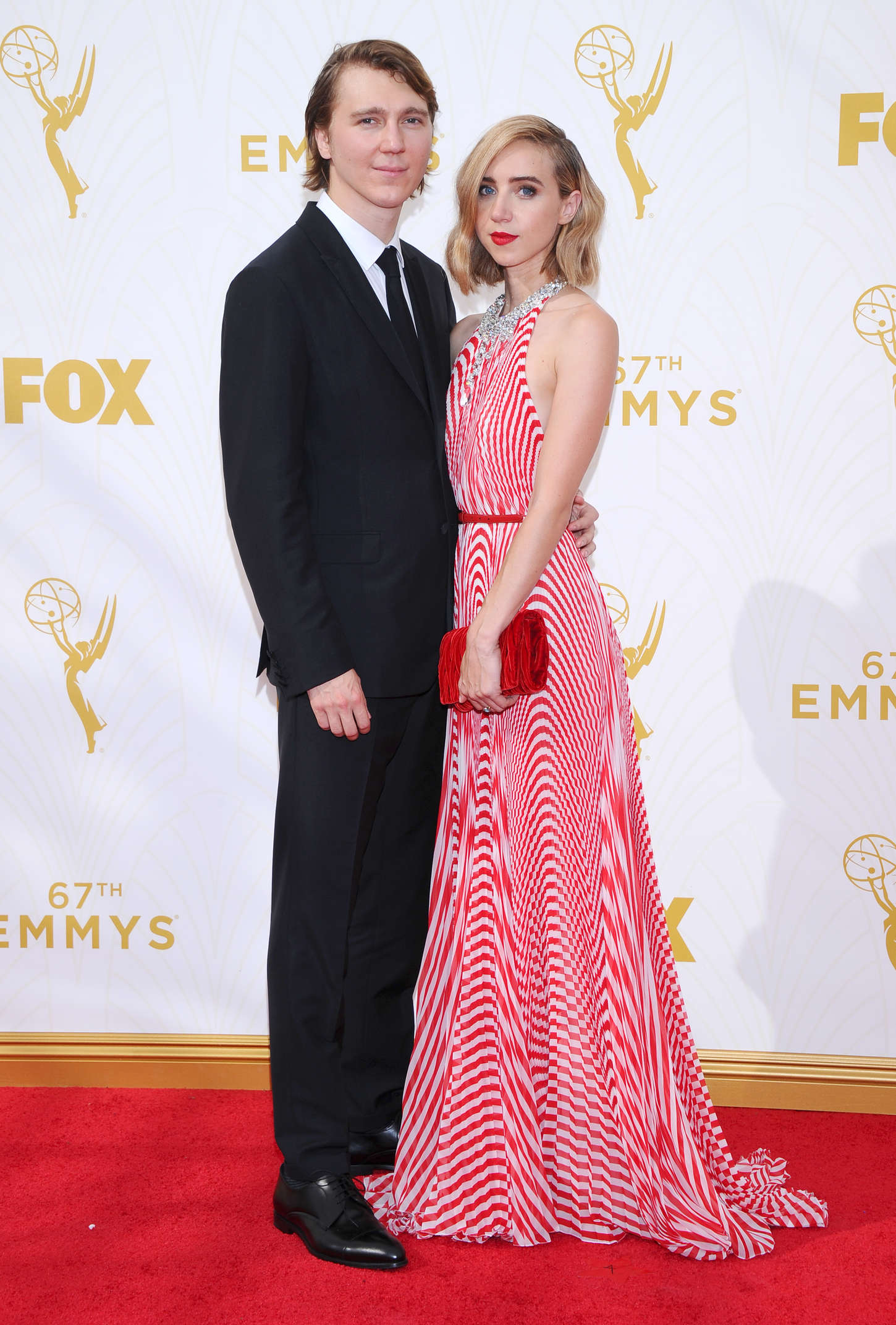 Zoe Kazan The Primetime Emmy Awards in Los Angeles