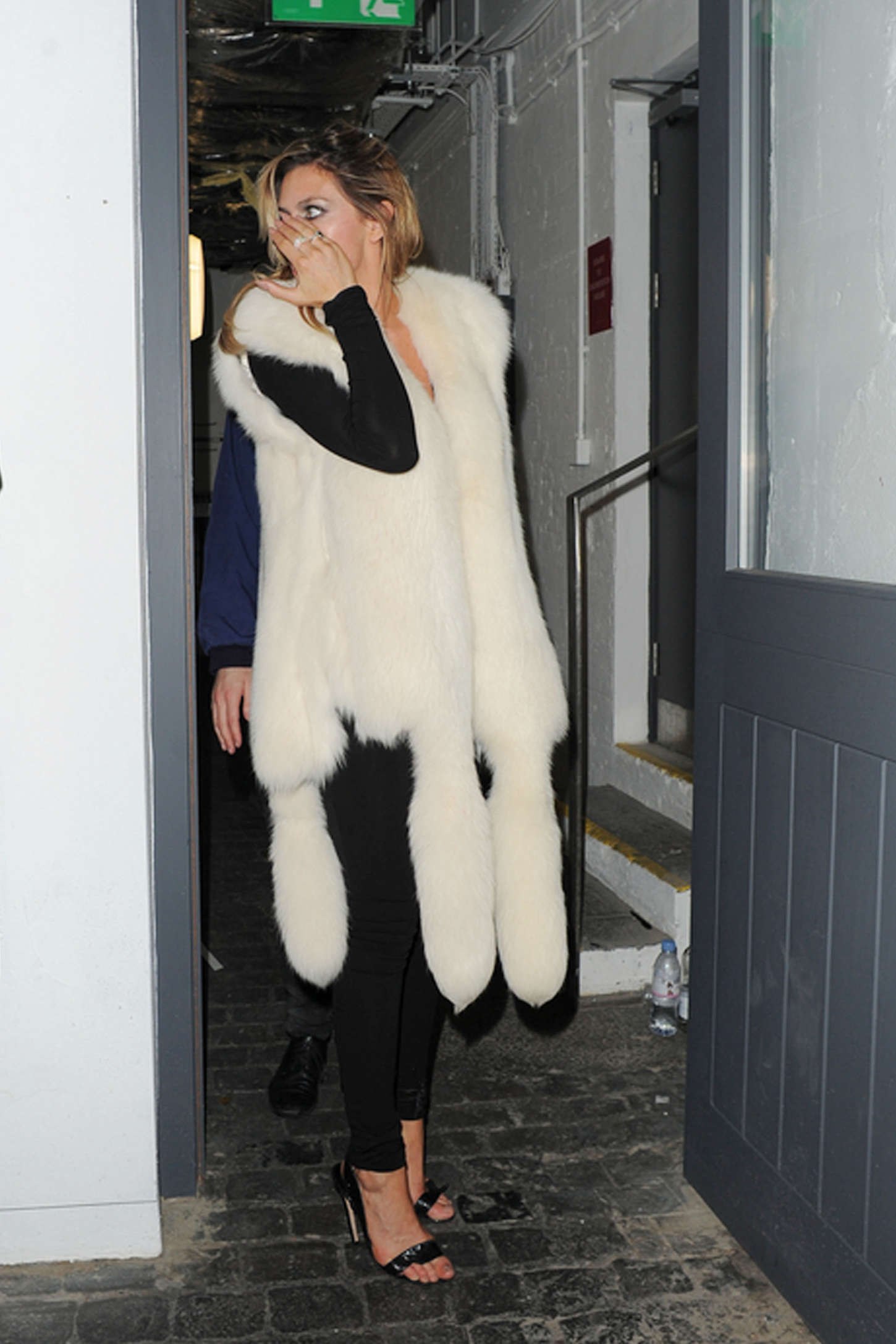 Abbey Clancy at Shoreditch House in London