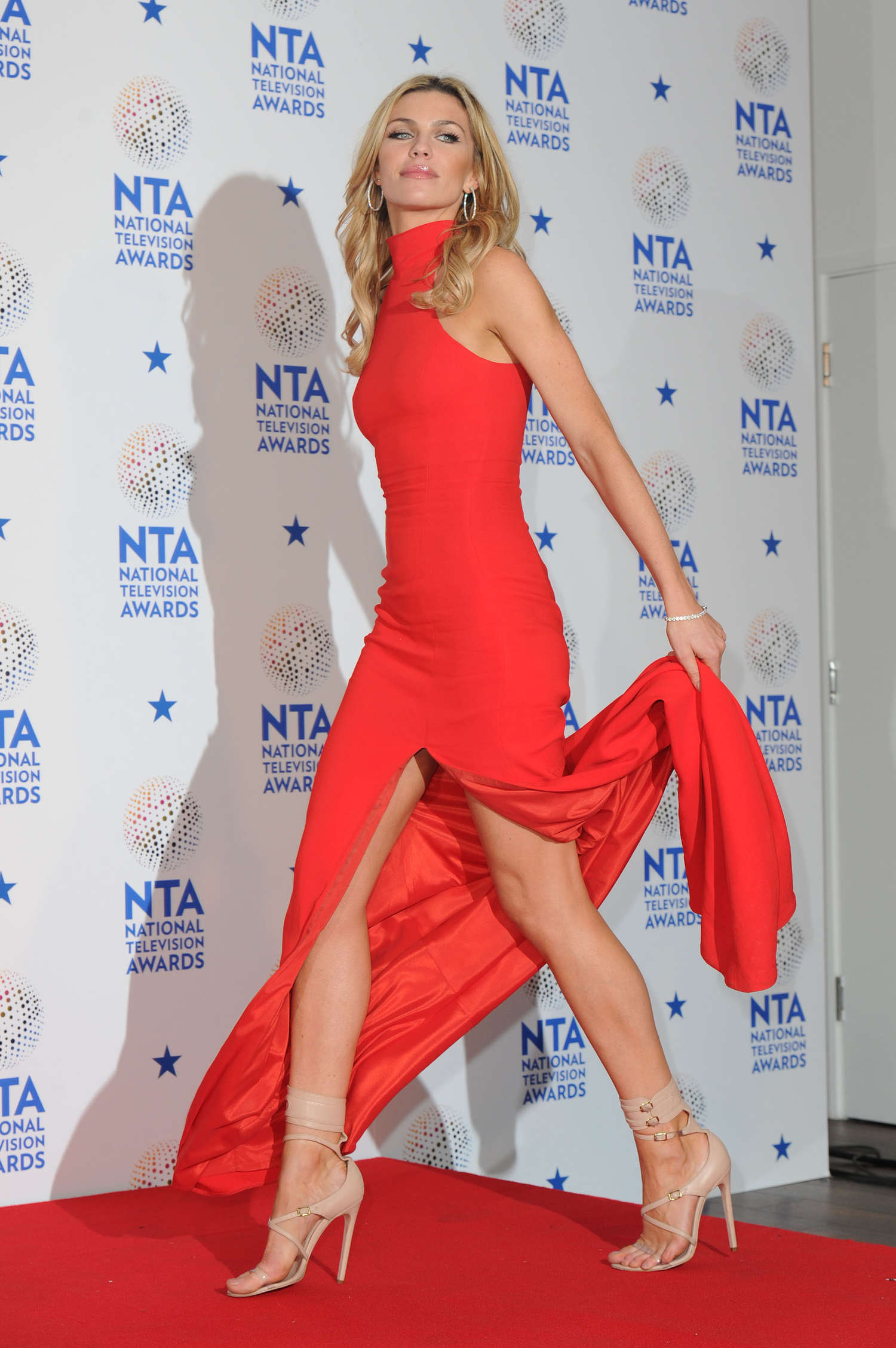 Abbey Clancy ELLEs Annual Women in Television Celebration