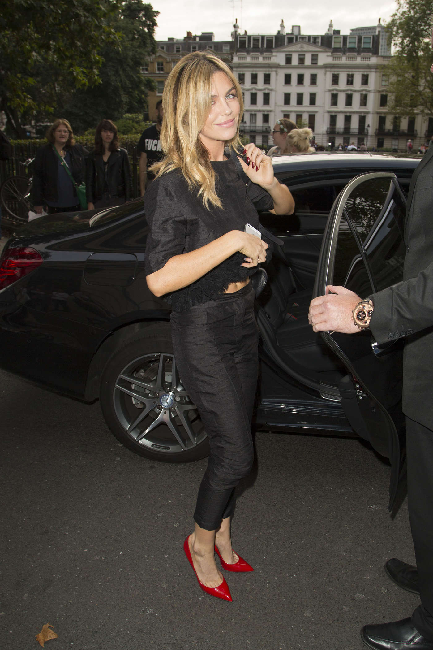 Abbey Clancy House Of Holland SS15 London Fashion Week