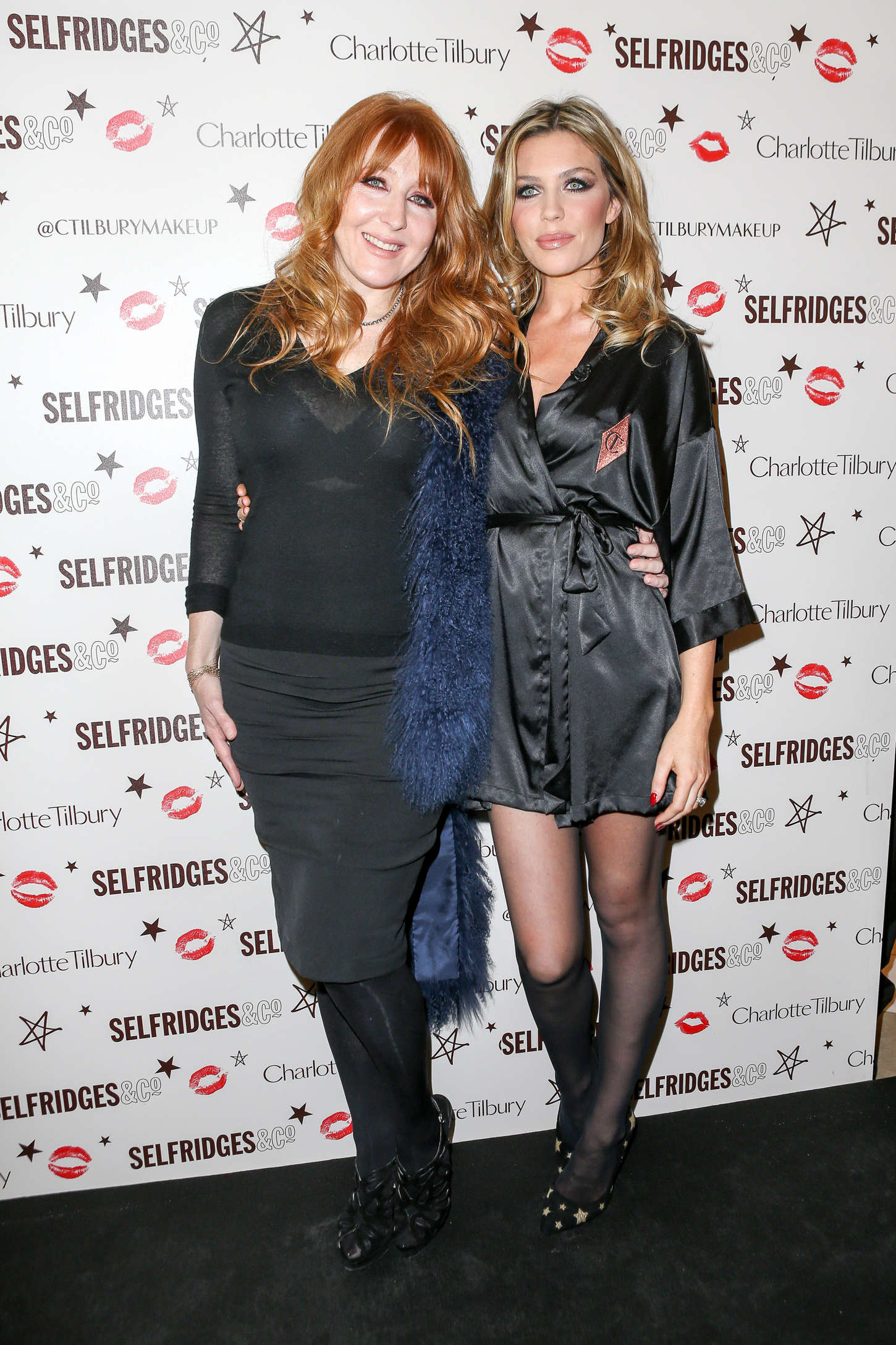 Abbey Clancy Selfridges Store in Manchester