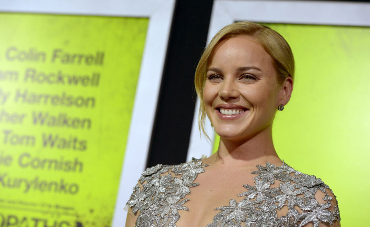 Abbie Cornish Seven Psychopaths Premiere