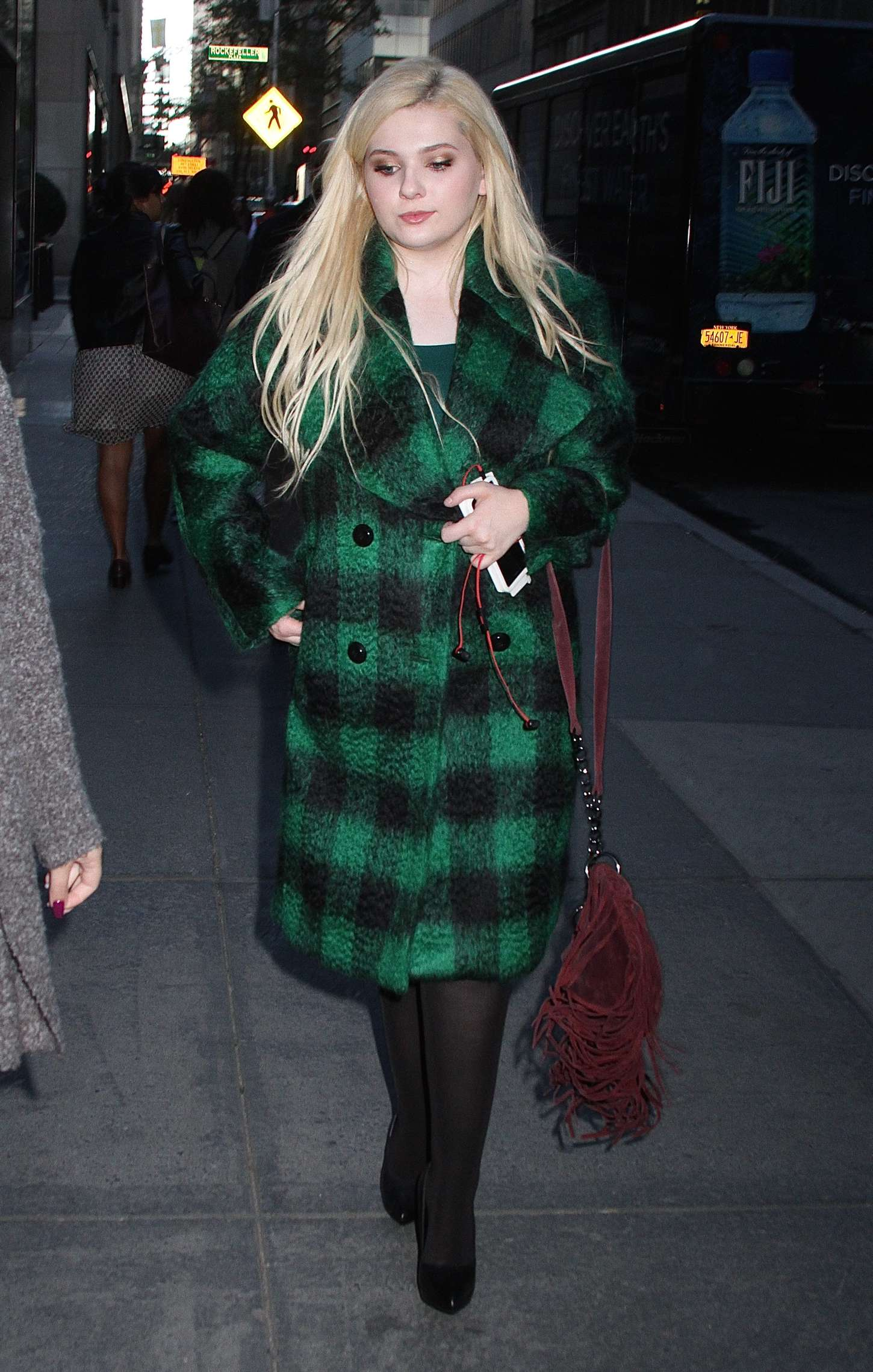 Abigail Breslin at Today Show Studios in New York