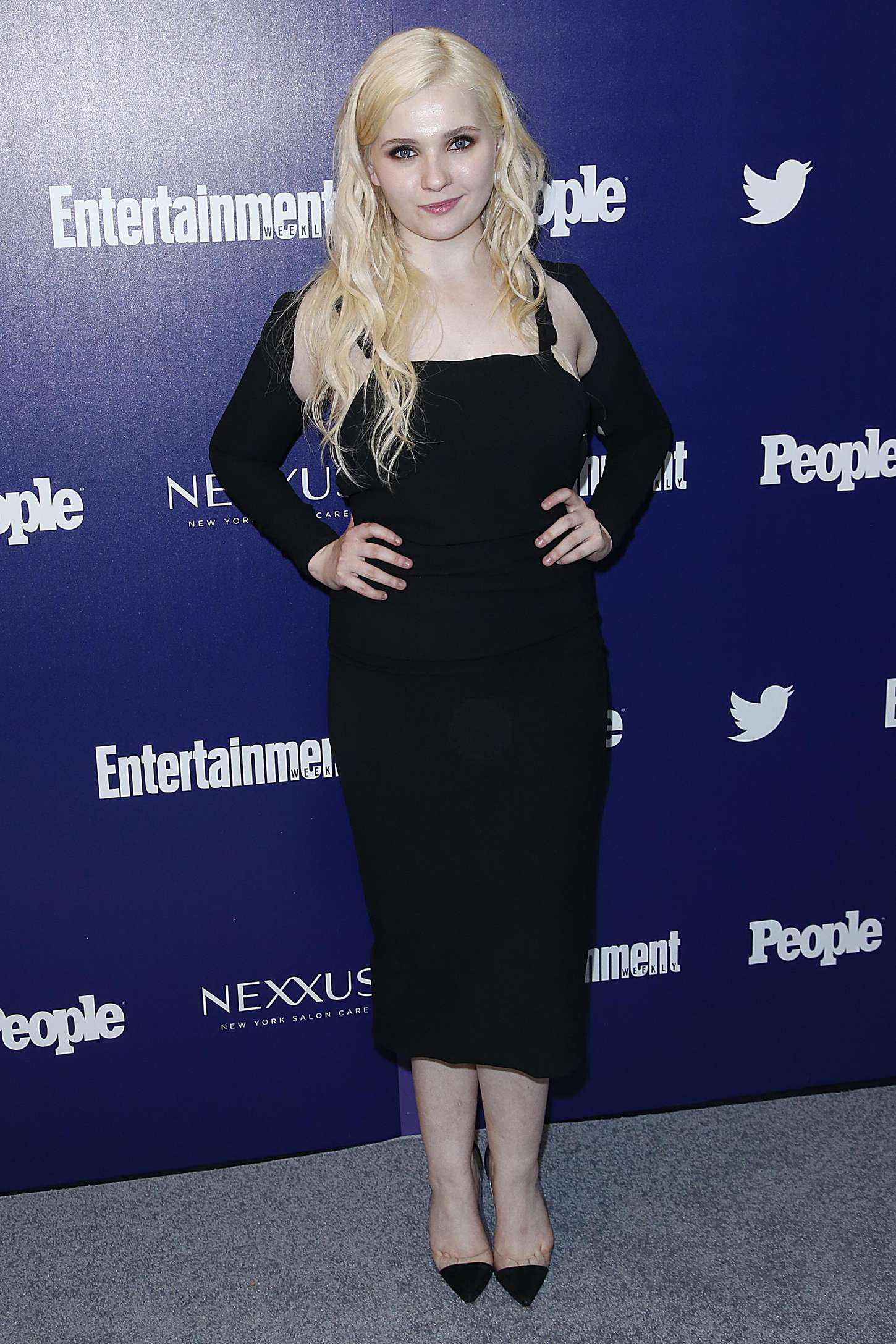 Abigail Breslin Entertainment Weekly And PEOPLE Celebrate The New York Upfronts in New York