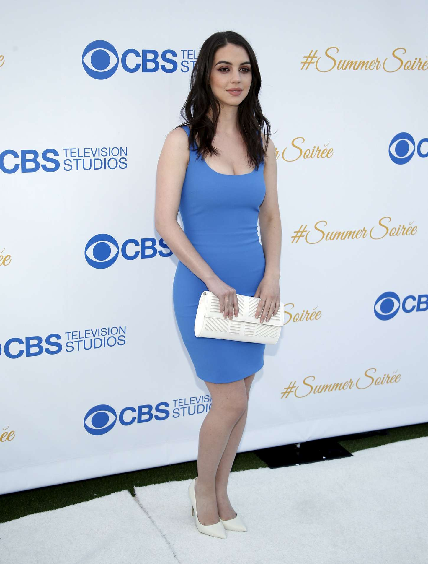 Adelaide Kane CBS Summer Soiree in West Hollywood