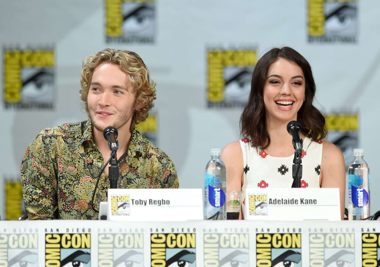 Adelaide Kane CW Reign Panel at Comic-Con in San Diego