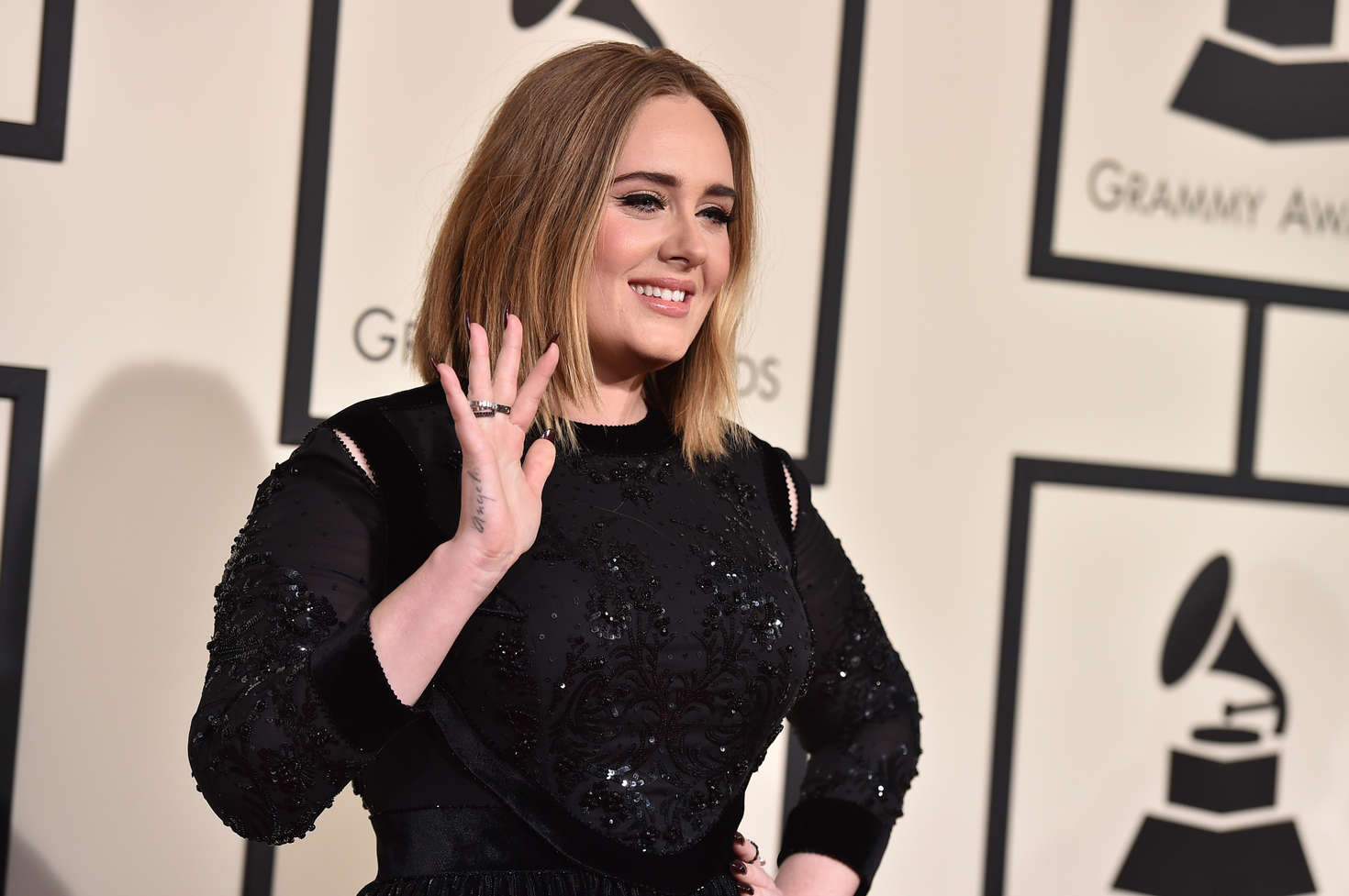 Adele Annual GRAMMY Awards in Los Angeles