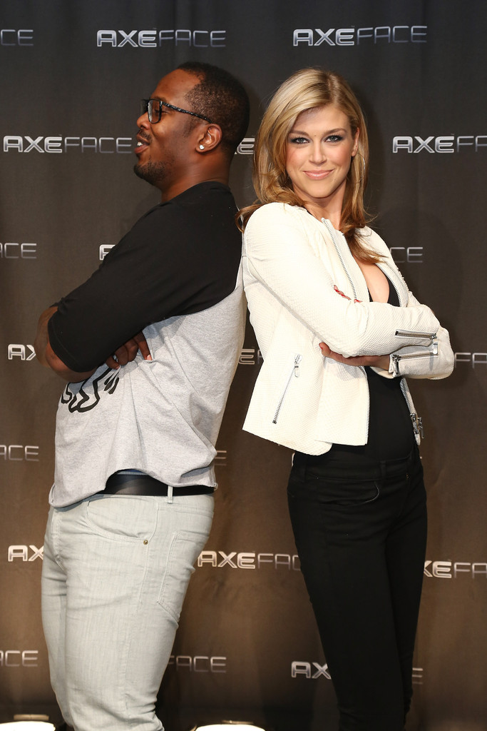 Adrianne Palicki AXE Facescore event in New York