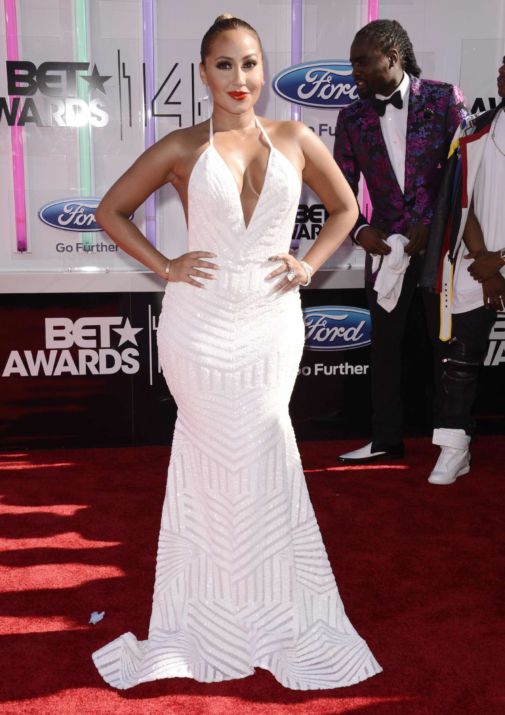 Adrienne Bailon BET Awards in Los Angeles