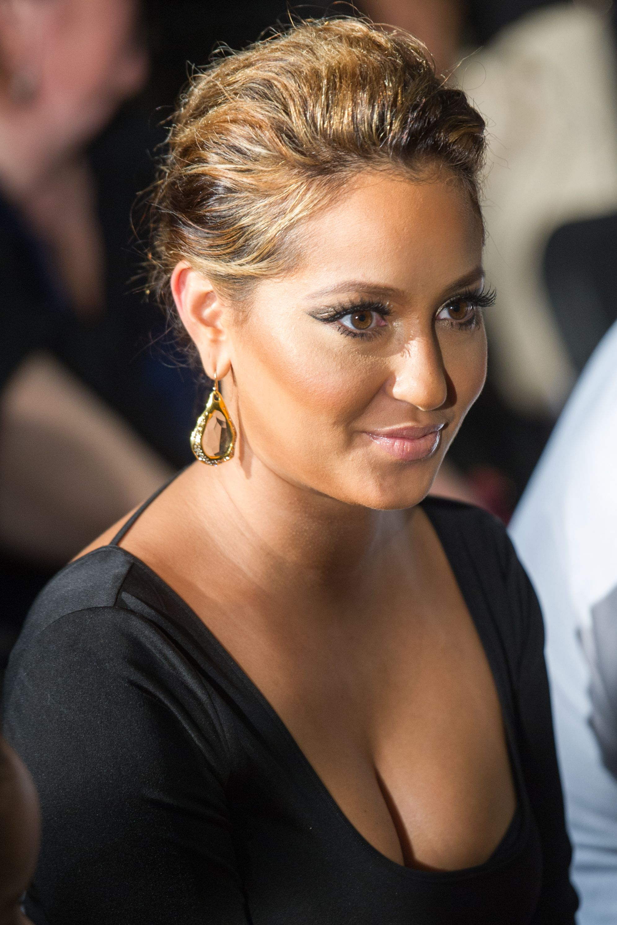 Adrienne Bailon Highline Back To School Teen Fashion Show
