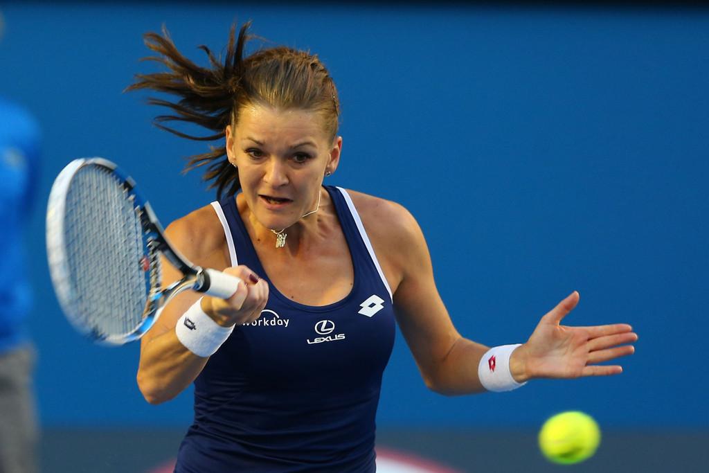 Agnieszka Radwanska Australian Open in Melbourne