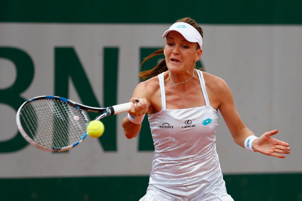 Agnieszka Radwanska French Open in Paris
