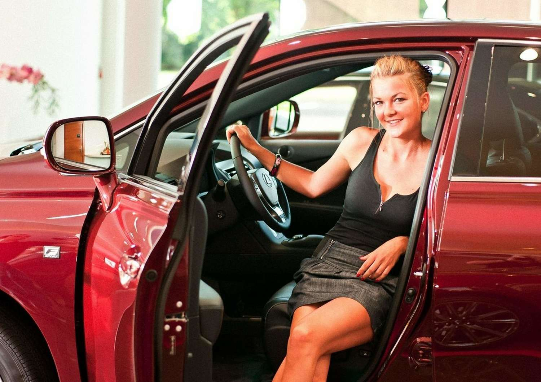 Agnieszka Radwanska Photoshoot for Lexus