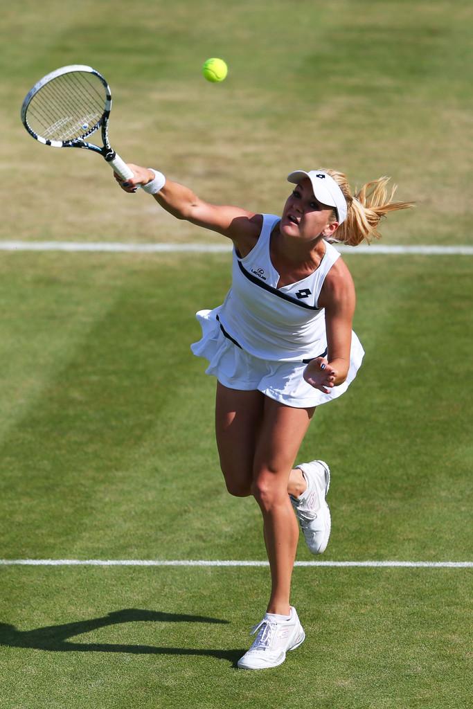 Agnieszka Radwanska Wimbledon Day