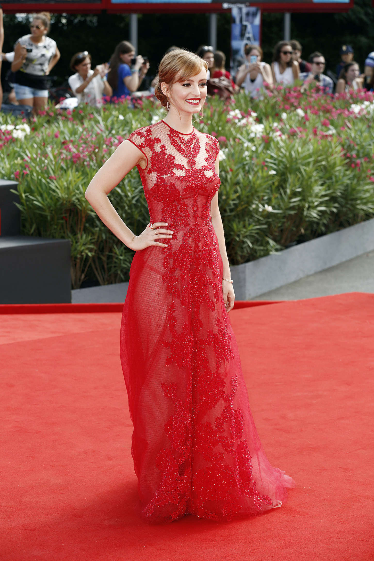 Ahna OReilly The Sound And The Fury Premiere at Venice Film Festival