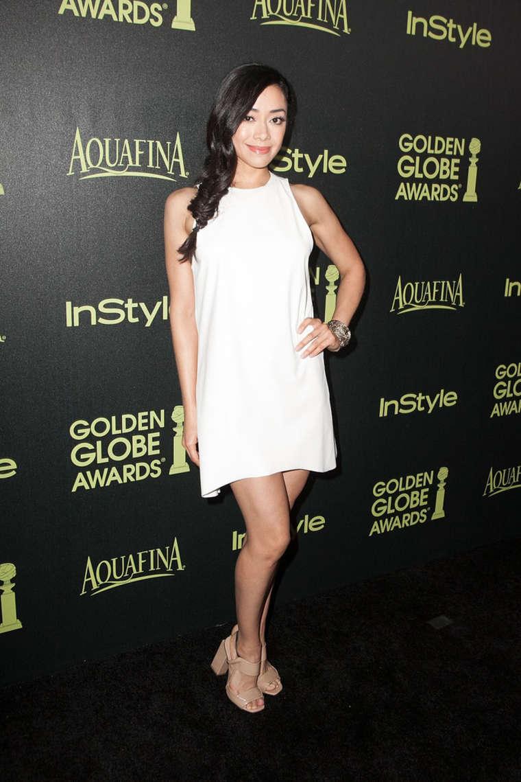 Aimee Garcia -HFPA InStyle Celebrate Golden Globe Award Season in West Hollywood