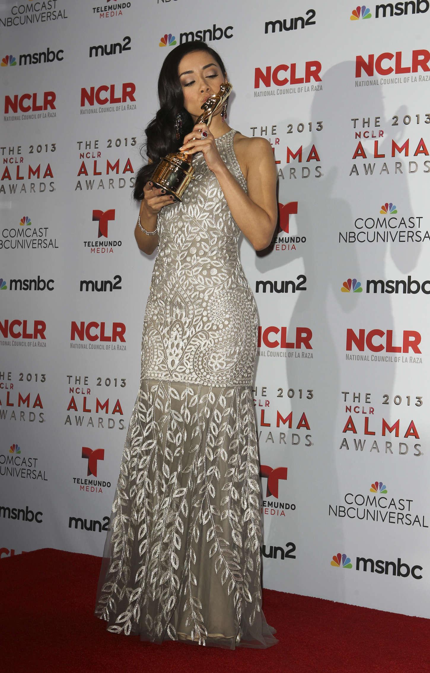 Aimee Garcia NCLR ALMA Awards in Pasadena