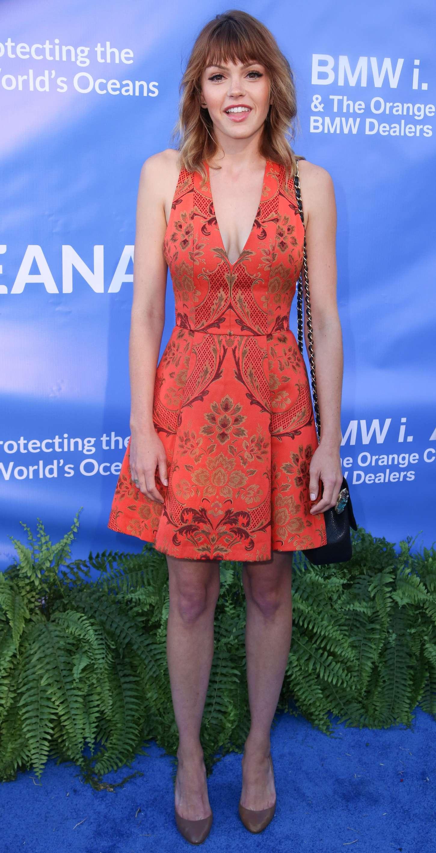 Aimee Teegarden Annual Oceana SeaChange Summer Party in Dana Point